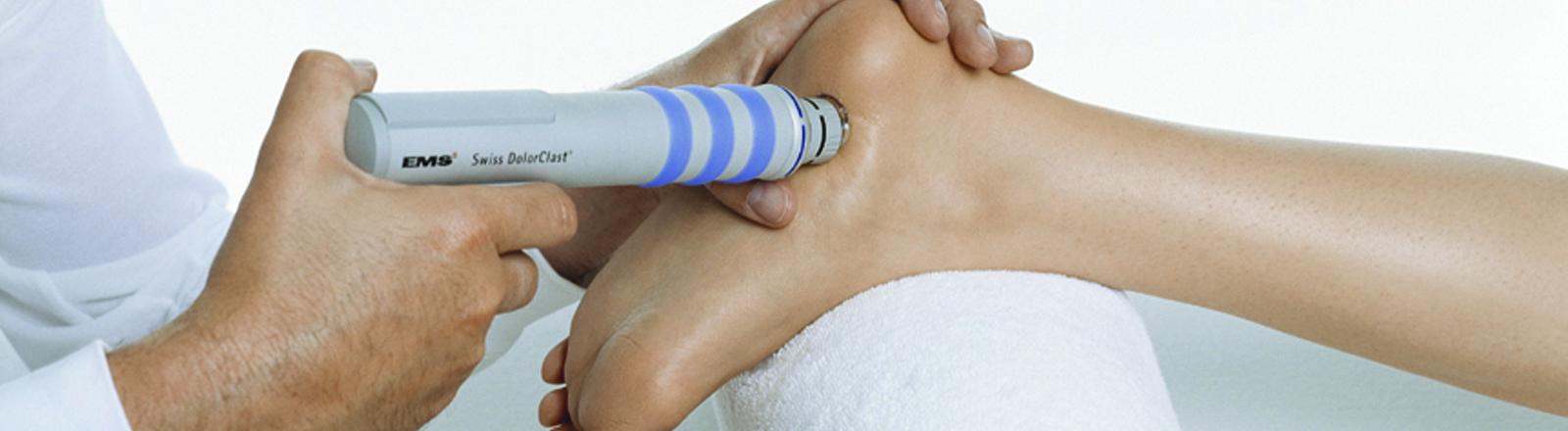 Ondas de choque en tratamiento de espolón calcáneo