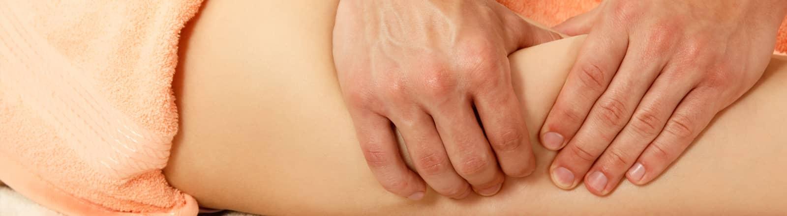 descarga de piernas masaje
