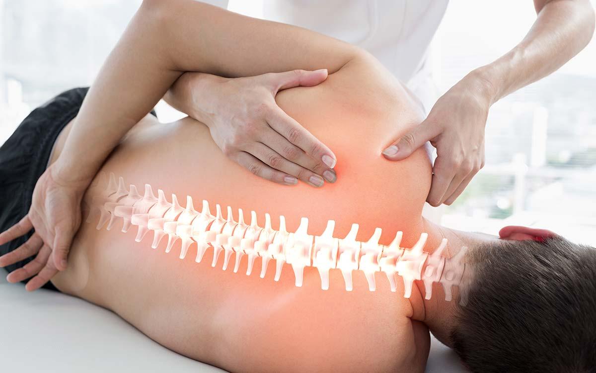 manipulación de osteopatía