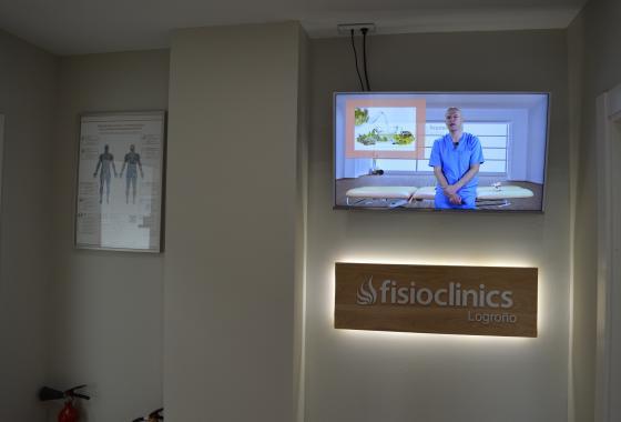 Clínica Fisioterapia Logroño FisioClinics sala de espera 2