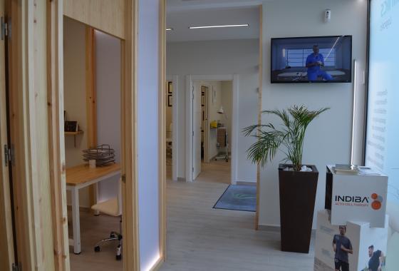 Clínica Fisioterapia Logroño FisioClinics recepción